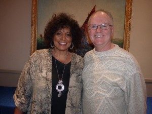 Nerene Virgin and Al Smith  - our guest speakers in February 2017